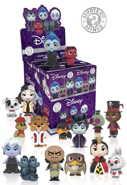 Mystery Minis Disney Villains 1