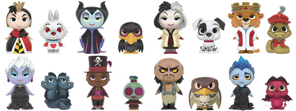 Mystery Minis Disney Villains 2