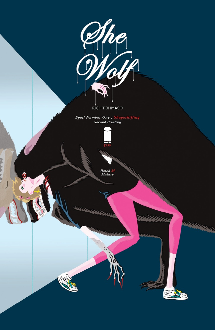 SHE WOLF #1 2nd printing