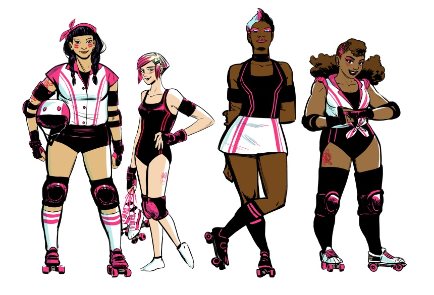 SLAM! Character Designs