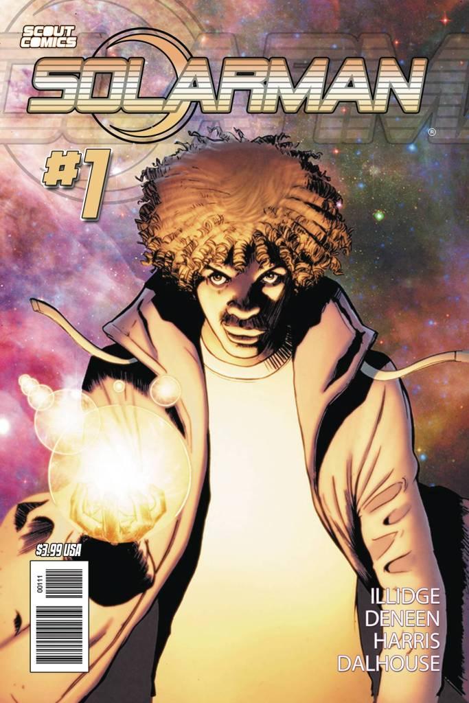 Solarman #1 Cover