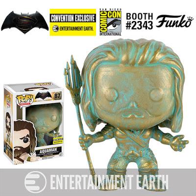 Special Funko Aquaman Patina Pop! Vinyl Figure 2