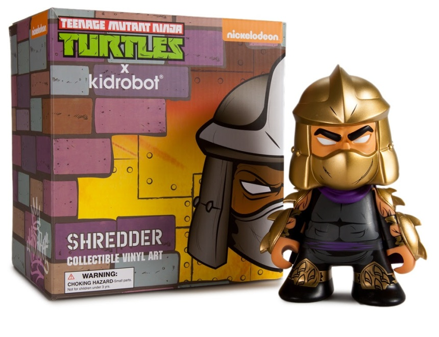 "Teenage Mutant Ninja Turtles Gold ""Shredder"" 7-inch Figure"