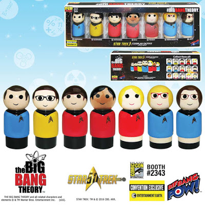 The Big Bang Theory Meets Star Trek in New Exclusive Pin Mate Set 2