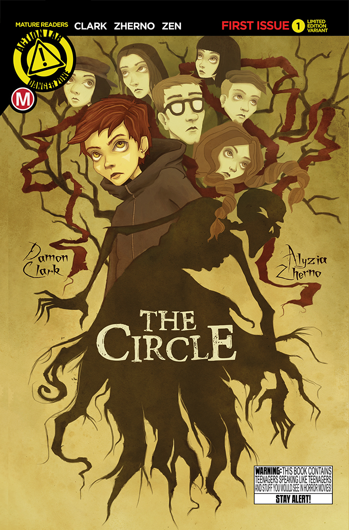 The Circle 1 Variant Cover SDCC