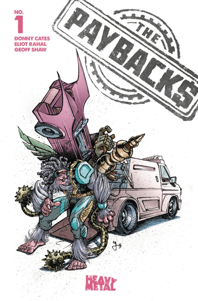 The Paybacks #1 Cover