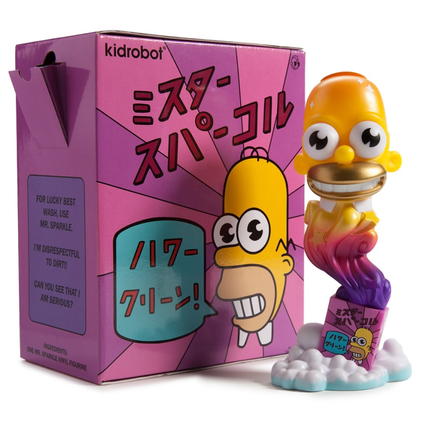 "The Simpsons Kaiju ""Mr. Sparkle"" 7-inch Figure"