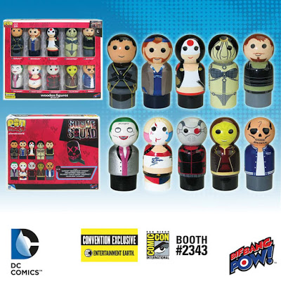 The Suicide Squad as Convention Exclusive Pin Mate Set 2