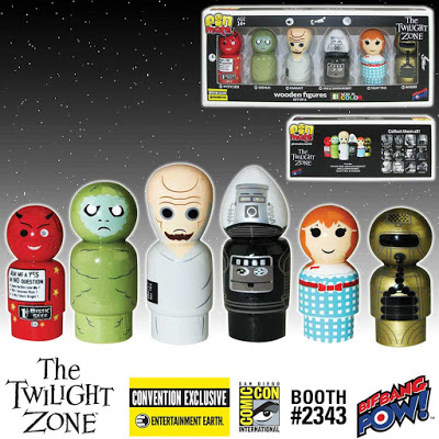 The Twilight Zone Exclusive Set of 6 Pin Mate Figures 2