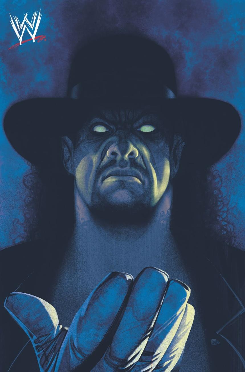 Undertaker by Frazer Irving