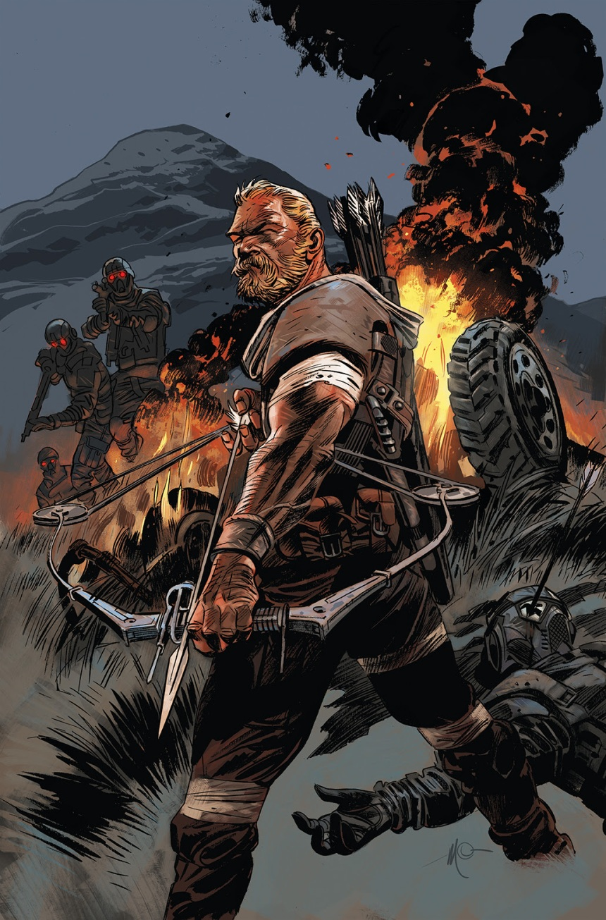 Warlords of Appalachia #1 cover by Massimo Carnevale