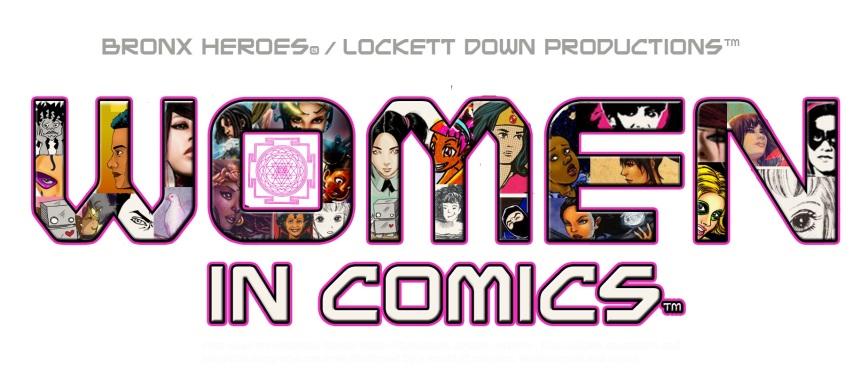 Women in comics 1LOGO