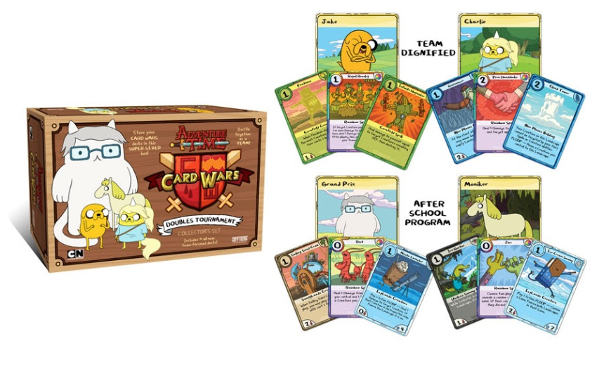 Adventure Time Card Wars Doubles Tournament
