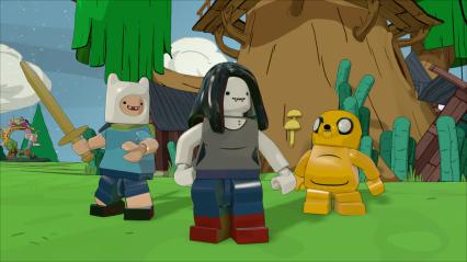 Adventure Time_Marceline, Jake & Finn