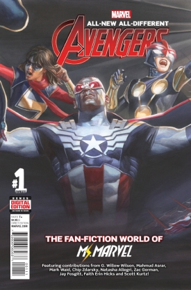 All New All Different Avengers Annual #1 Cover