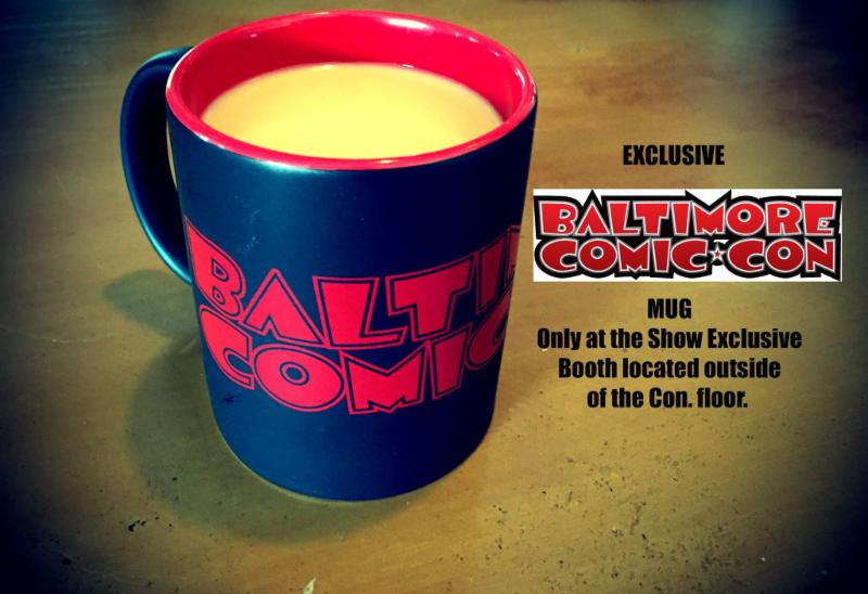 Baltimore Comic-Con mugs