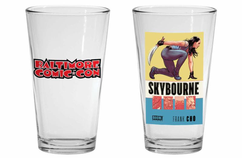 Baltimore Comic-Con Skybourne Exclusive Cover tumblers