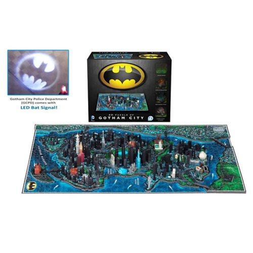 Batman Gotham City 4D Cityscape Puzzle