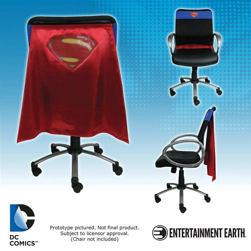 Batman v Superman Dawn of Justice Superman Chair Cape Superman