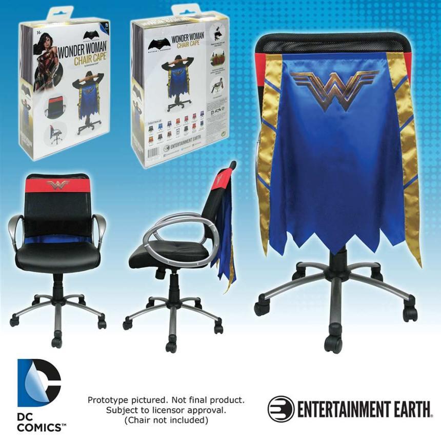 Batman v Superman Dawn of Justice Superman Chair Cape Wonder Woman