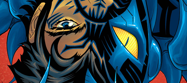 blue beetle rebirth #1 featured