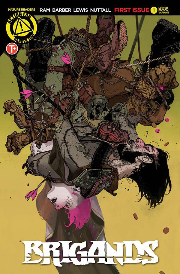 BRIGANDS 1 VARIANT COVER