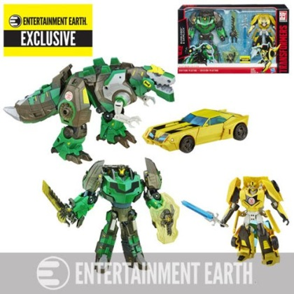 Collector's Edition Grimlock and Bumblebee