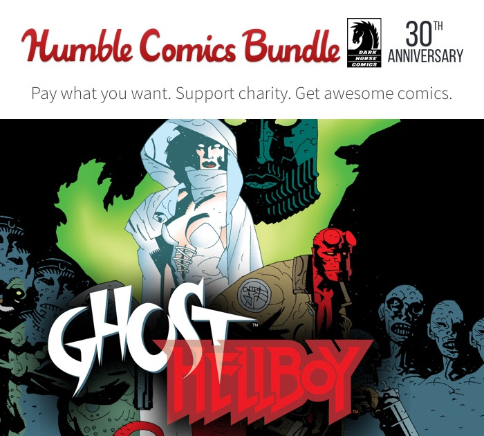 Dark Horse 30 Years Humble Bundle