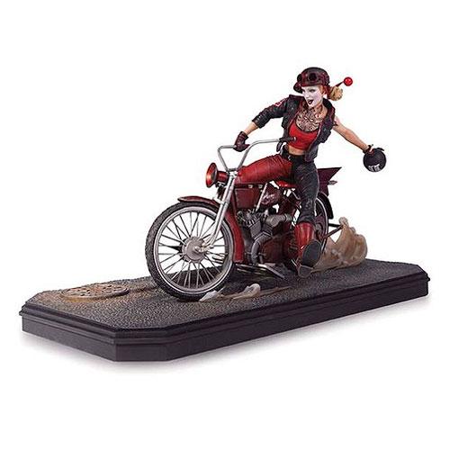 DC Comics Gotham City Garage Harley Quinn Statue