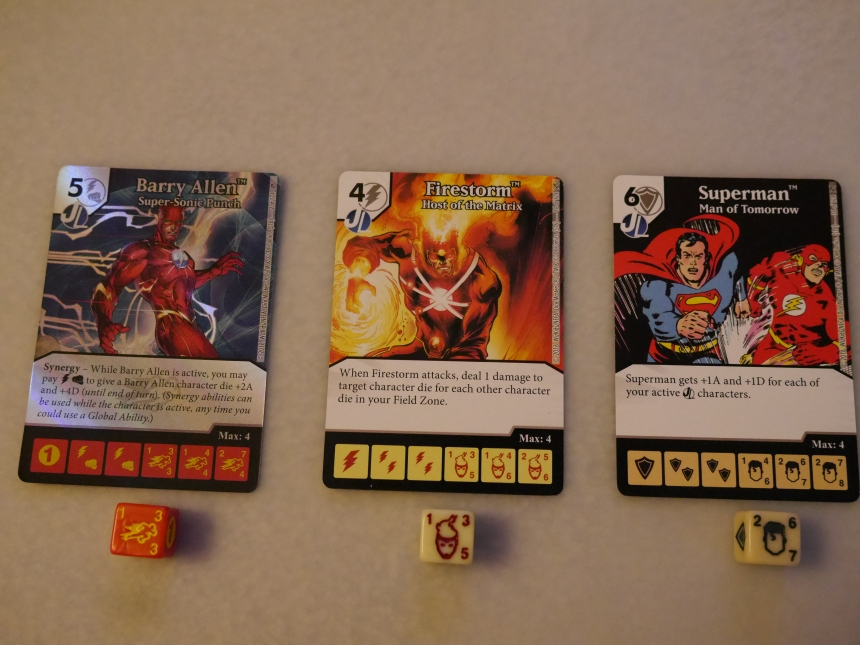 DC Dice Masters The Flash Green Arrow Barry Allen Firestorm Superman