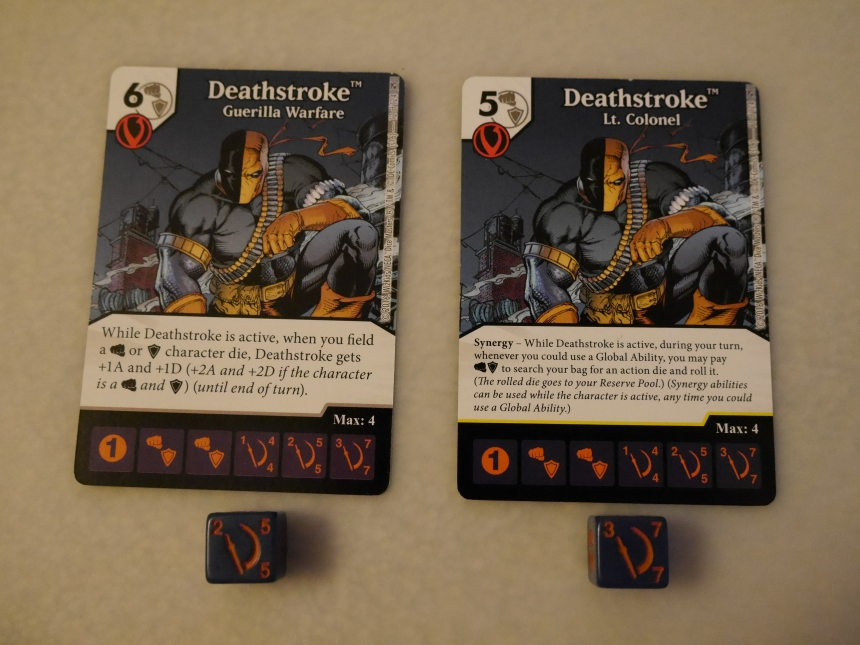 DC Dice Masters The Flash Green Arrow Deathstroke