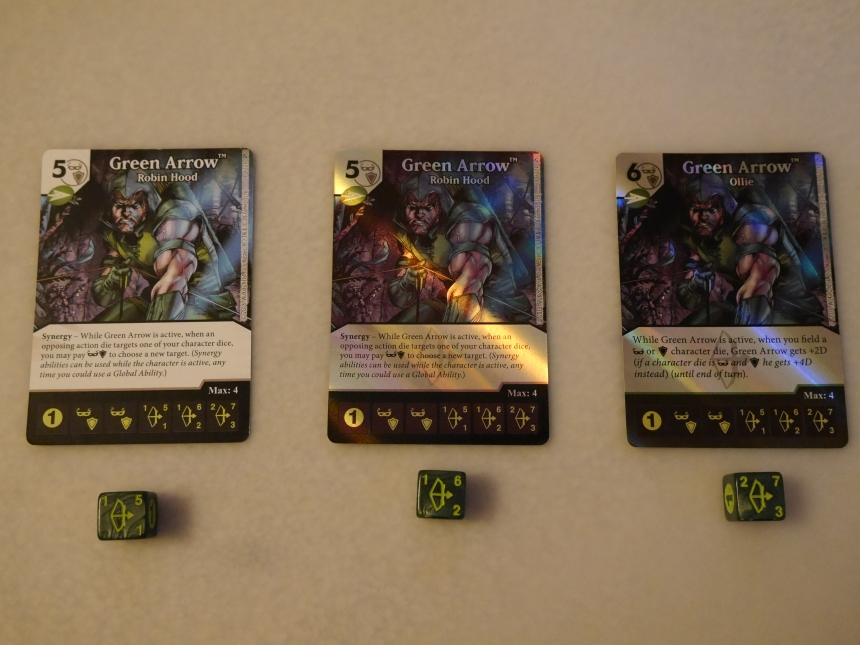 DC Dice Masters The Flash Green Arrow Green Arrow