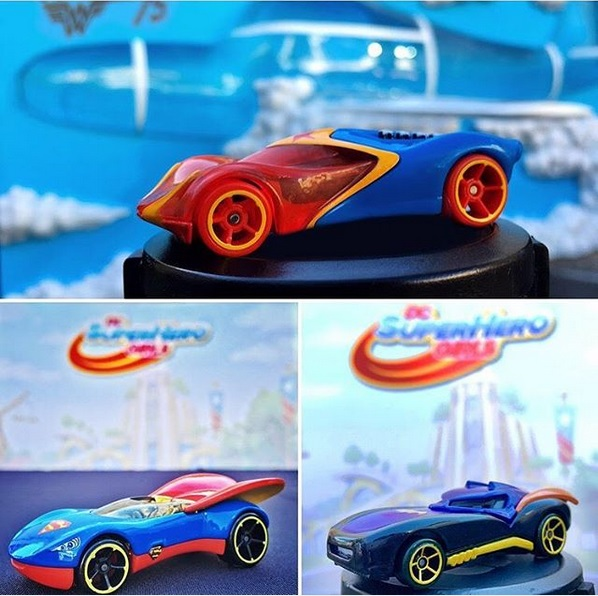 DC Super Hero Girls Hotwheels Supergirl