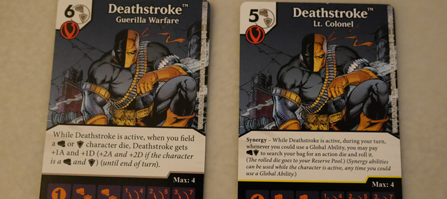 dice masters the flash and green arrow deathstroke featured