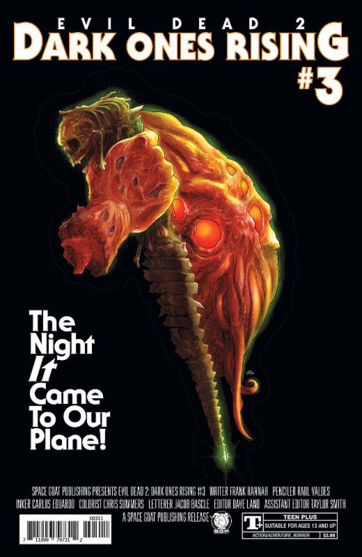 Evil Dead 2 Dark Ones Rising #3 Movie Homage Cover