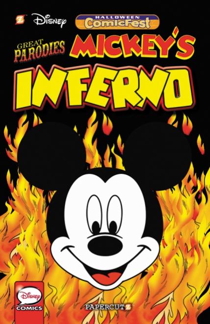 HCF16_Papercutz_Mickey's Parodies Inferno
