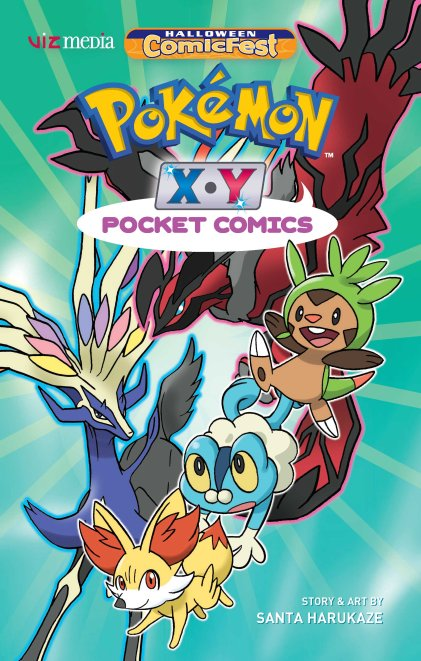 HCF16_Viz Media_Pokemon Pocket Comics XY