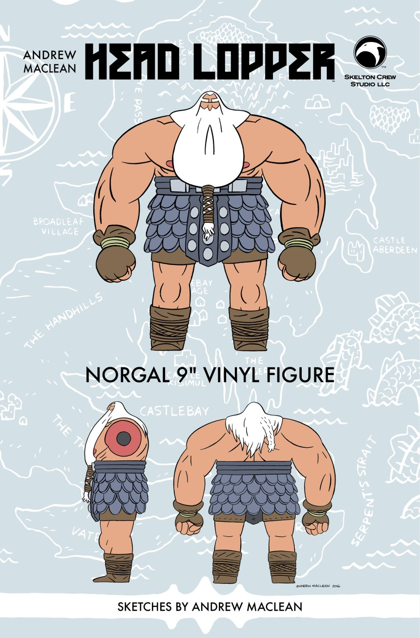 Head Lopper's Norgal for press release