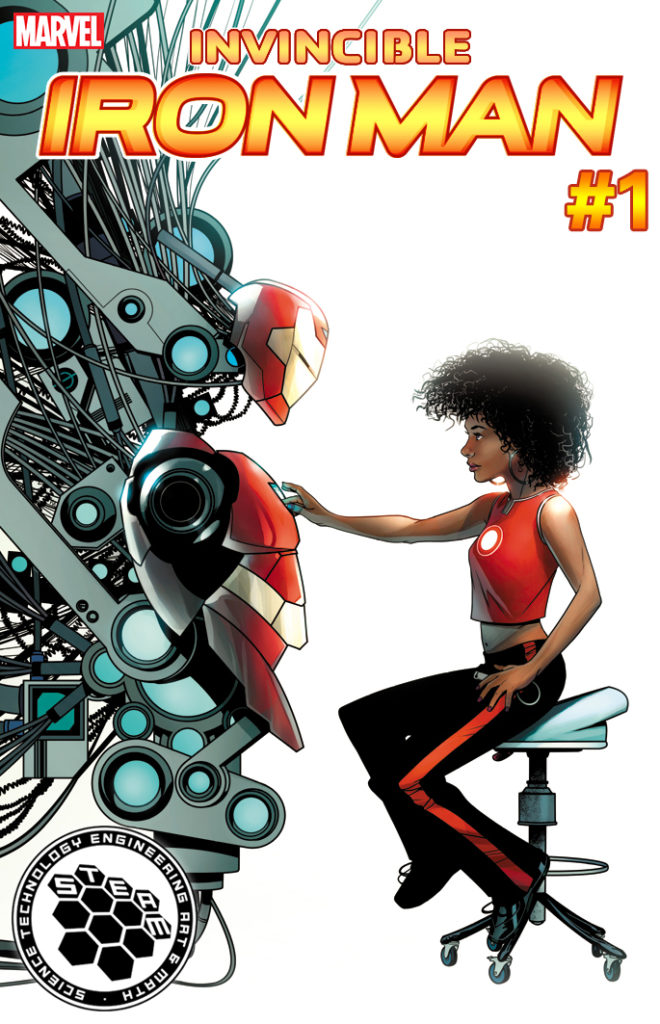 Invincible Iron Man #1 2
