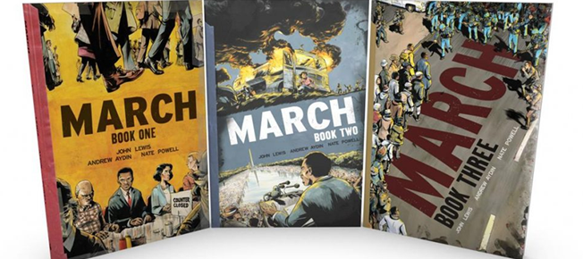 Check out Rep. John Lewis' March this MLK Day