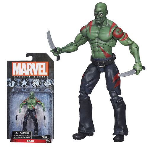 Marvel Infinite Series Drax 3 34-Inch Action Figure