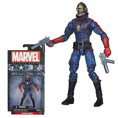 Marvel Infinite Series Star-Lord 3 34-Inch Action Figure