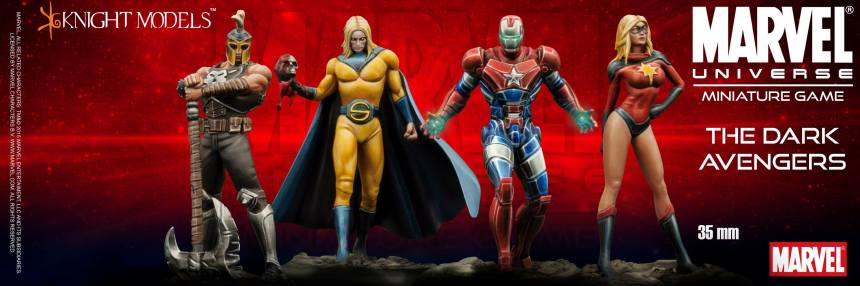 Marvel Universe Miniature Game Dark Avengers