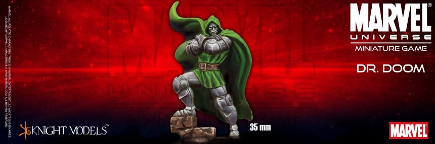 Marvel Universe Miniature Game Dr. Doom