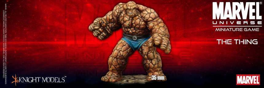 Marvel Universe Miniature Game The Thing