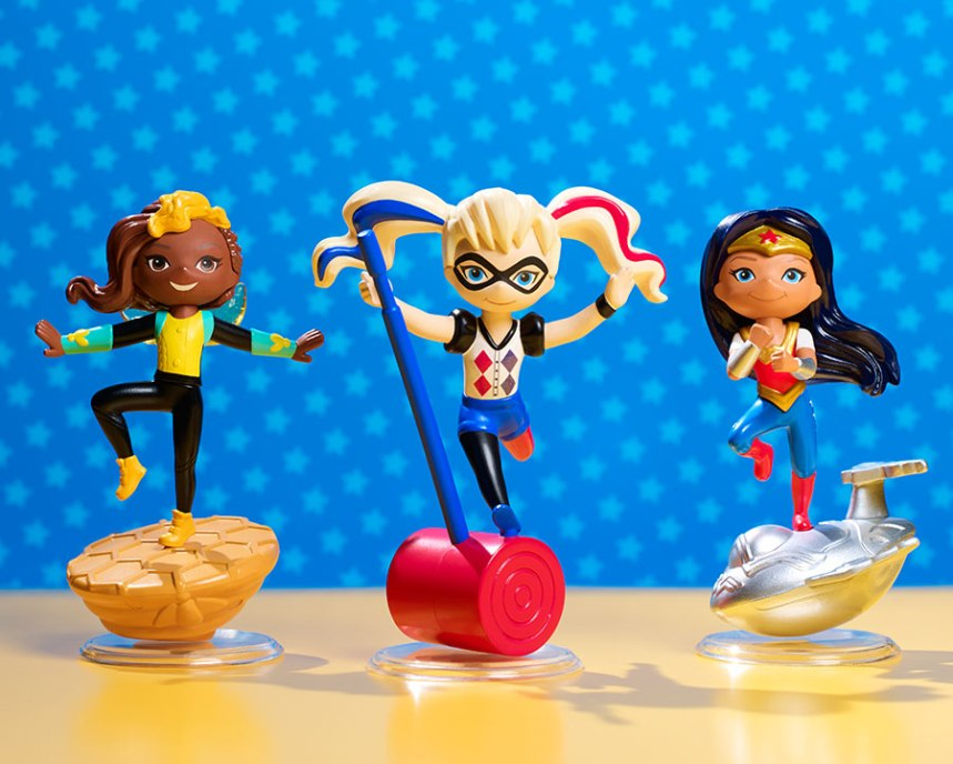 mini Super Hero Vinyls