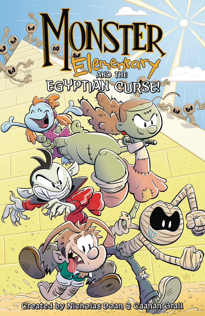 MONSTER ELEMENTARY EGYPTIAN CURSE TP VOL 02