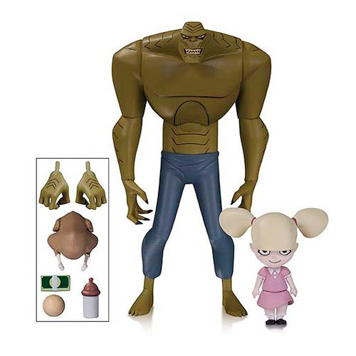 New Batman Adventures Killer Croc and Baby Doll Figures