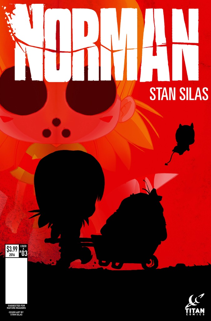 NORMAN #3_COVERS