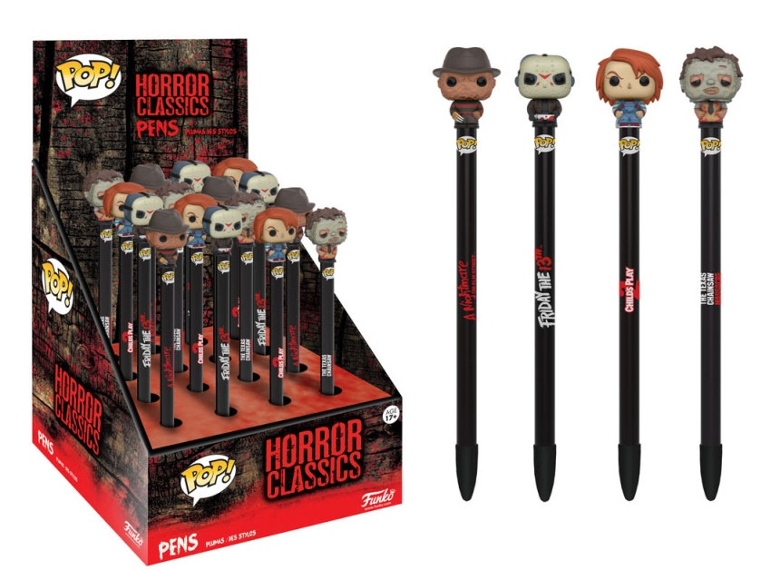 Pen Toppers Horror
